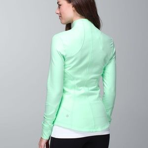 ✨Lululemon✨ mint green forme jacket
